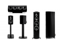 Комплект акустики 5.0 SONUS FABER Sonetto V + Sonetto II + Sonetto Center II Black