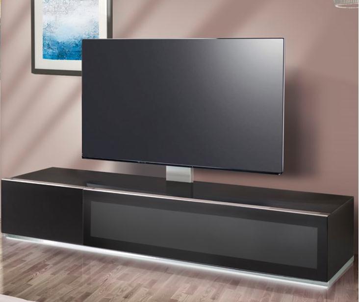 тумбочка под большой телевизор фото